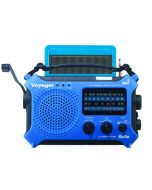Kaito KA500 5-Way Powered AM/FM/NOAA Weather Radio (Blue)