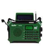 Kaito KA700 Bluetooth Emergency Weather & Alert Radio (Green)
