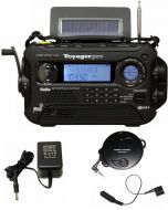 Kaito Voyager Pro KA600 Emergency Weather & Alert Radio (Black)
