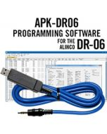APK-DR06 Programming Software and USB-29A cable for the Alinco DR-06