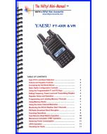 Nifty Manual MM-FT4XR/VR for Yaesu FT-4XR & FT-4VR Mini-Manual