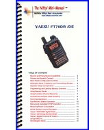 Nifty Accessories MM-FT70DR Yaesu FT-70DR Mini-Manual