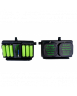 GMAG Charger 2000 w/6 2000mAh AA Batteries and Replaceable G-Mag PowerPucks