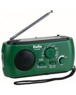Kaito KA332W Portable Crank Solar NOAA Weather Radio (Green)
