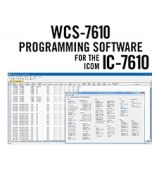 WCS-7610 Programming Software Only Icom IC-7610