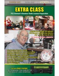Gordon West's Extra Class Study Manual 2016-2020 w/Software