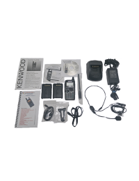Used TH-D72A 5W GPS/APRS HT, KSC-32 Charger, Nifty Manual, Additional Battery, KHS-22 Headset