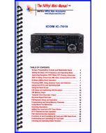 MM-IC7610 Icom IC-7610 Mini-Manual