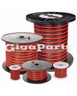 Red/Black Zip Cord (Gauge: 10 Length: 25 ft.)