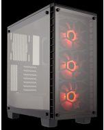 Corsair Crystal 460X RGB Compact ATX MId-Tower Chassis, CC-9011101-WW