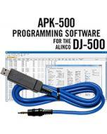 APK-500 Programming Software w/ USB-29A cable Alinco DJ-500