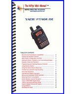 Nifty Accessories MM-FT70DR Yaesu FT-70DR Mini-Manual