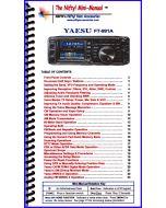 Yaesu FT-991A Mini-Manual