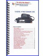 NIfty Accessories MM-FTM7250DR Yaesu FTM-7250DR Mini-Manual