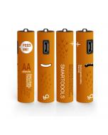 USB Rechargeable AAA Batteries,450mAh