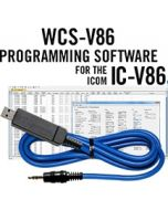 WCS-V86 Programming Software and USB-29A for the Icom IC-V86