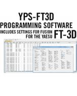 YPS-FT3D Programming Software Only for the Yaesu FT-3D