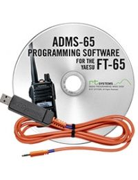 ADMS-65-USB Programming Software and USB-55 cable for FT-65