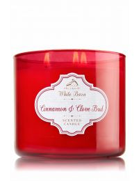 Cinnamon & Clove Bud 3-Wick Candle