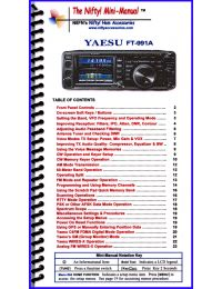 Yaesu FT-991A Mini-Manual