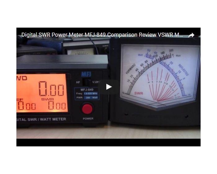 MFJ-849 Digital SWR/Wattmeter