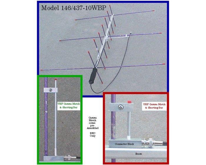 Arrow Antennas 146/437-10BP