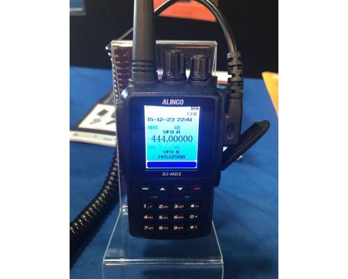 Alinco DJ-MD5T VHF/UHF 5W DMR Part 90 HT