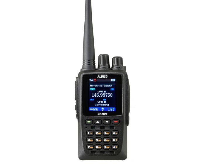 Alinco DJ-MD5TGP Dual Band DMR Part 90 HT w/GPS