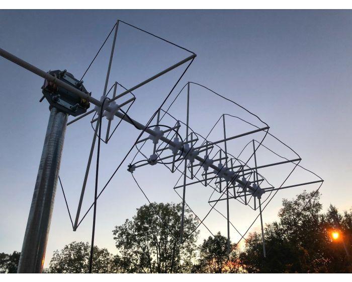 Quasar 2M 70CM 9 Element Quad Antenna