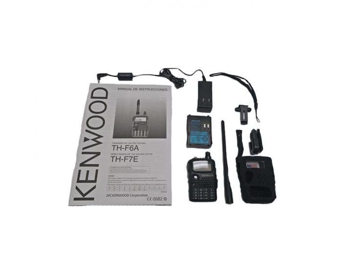 *Used TH-F6A Handheld radio, 2m/1 25m/70cm, 5W