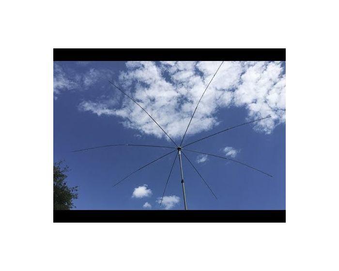 MFJ-2100 Octopus Antenna Base w/8 x 3/8-24 Female Connectors