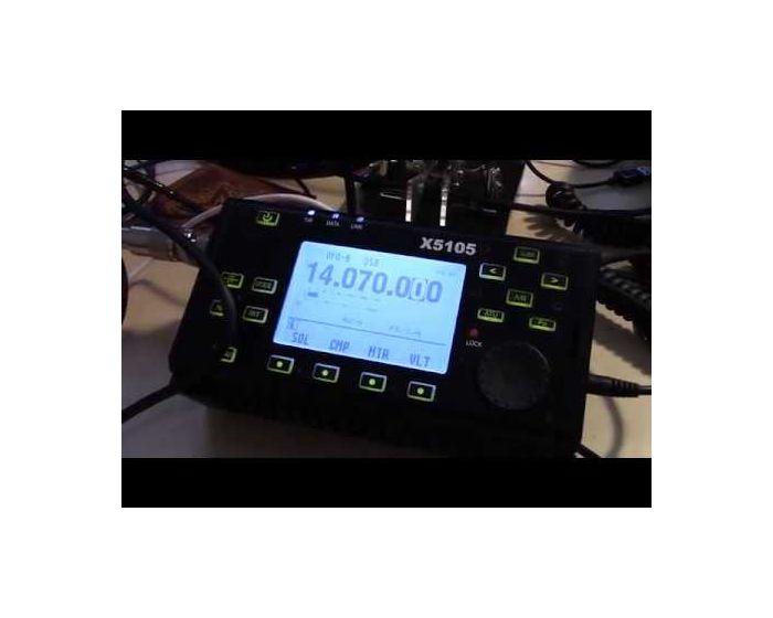 Xiegu X5105 HF-6 Meter Portable Transceiver