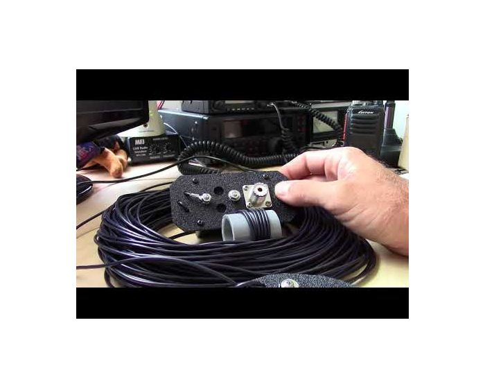 EndFed 1/2 Wave 30W 80M-10M Wire Antenna