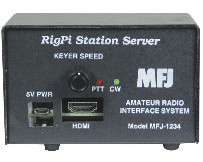 MFJ-1234 RigPi Station Server