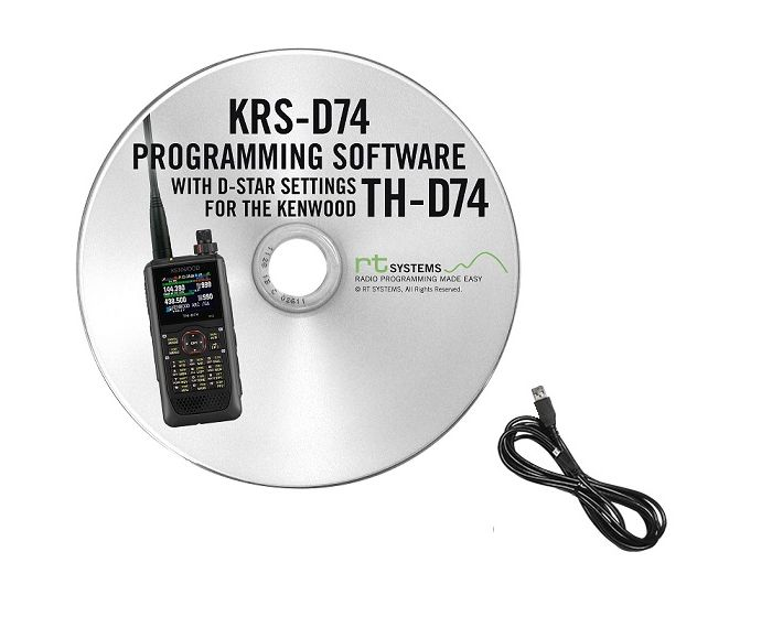 TH-D74A Software and USB Cable