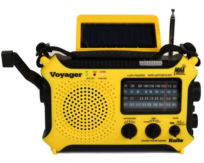 Kaito KA500 5-Way Powered AM/FM/NOAA Weather Radio (Yellow ...