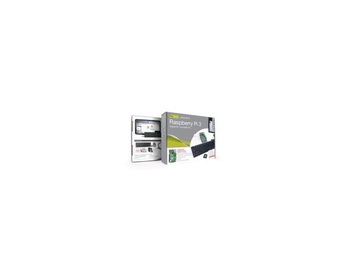 Nutis Complete Kit Incorporated Element 14 83-20183RK Raspberry Pi 3 Model B