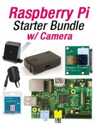 GigaParts Raspberry Pi Starter Bundle w/ Camera