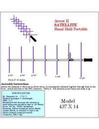 Arrow Antennas 437X14