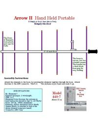 Arrow Antennas 440-7BP