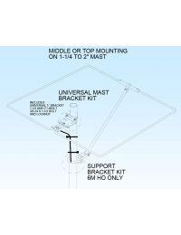 M2 Antenna MAST BRACKET KIT, HO