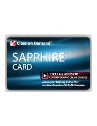 Class on Demand Sapphire Card