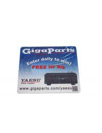 GigaParts Yaesu Mouse Pad