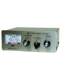 Open Box Manual tuner + SWR, 1.8-30MHz, 200W